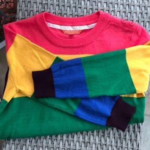Mod Cloth Multi Striped Sweater